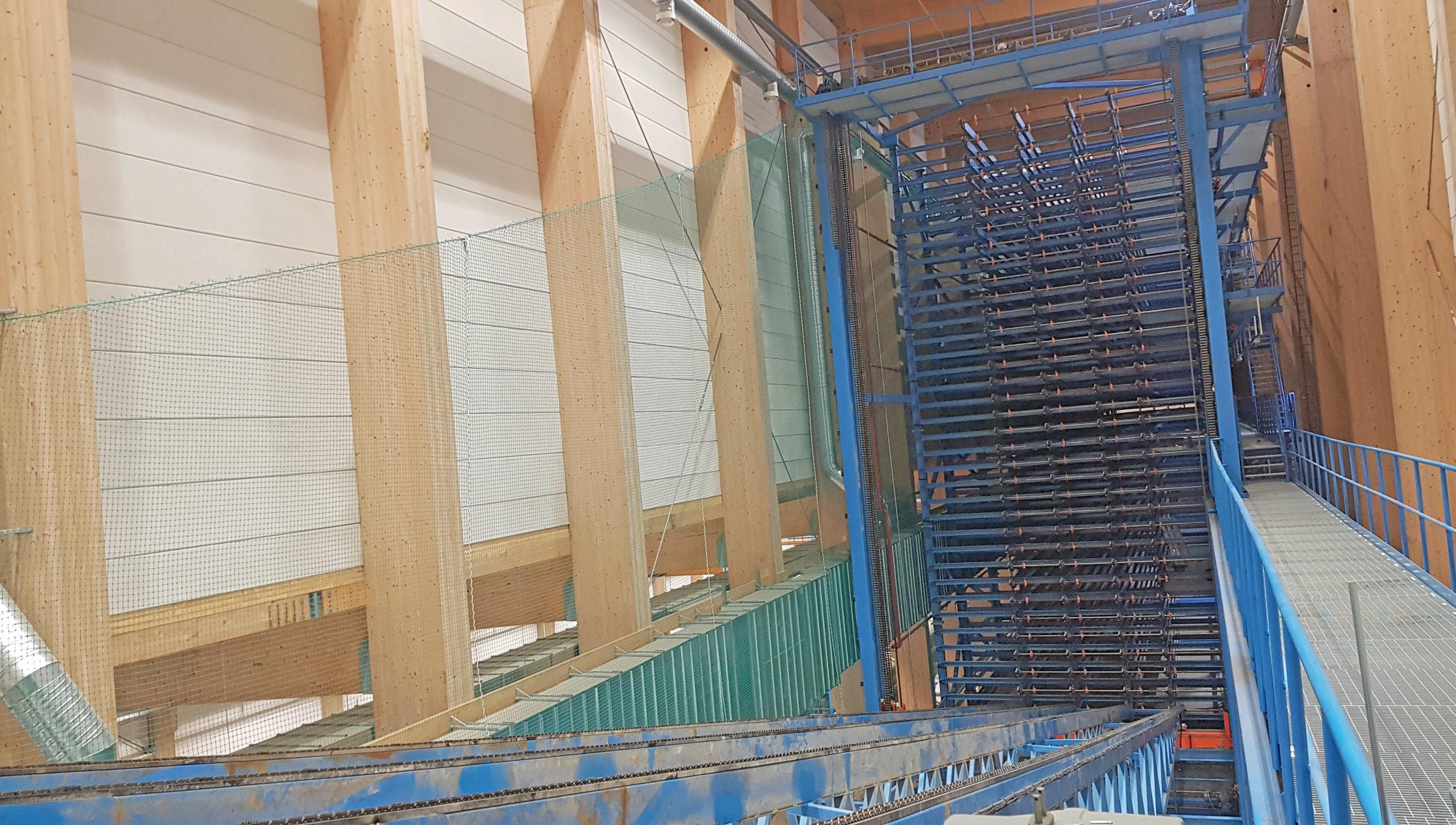 Закончен монтаж оборудования в Хассельфорсе.