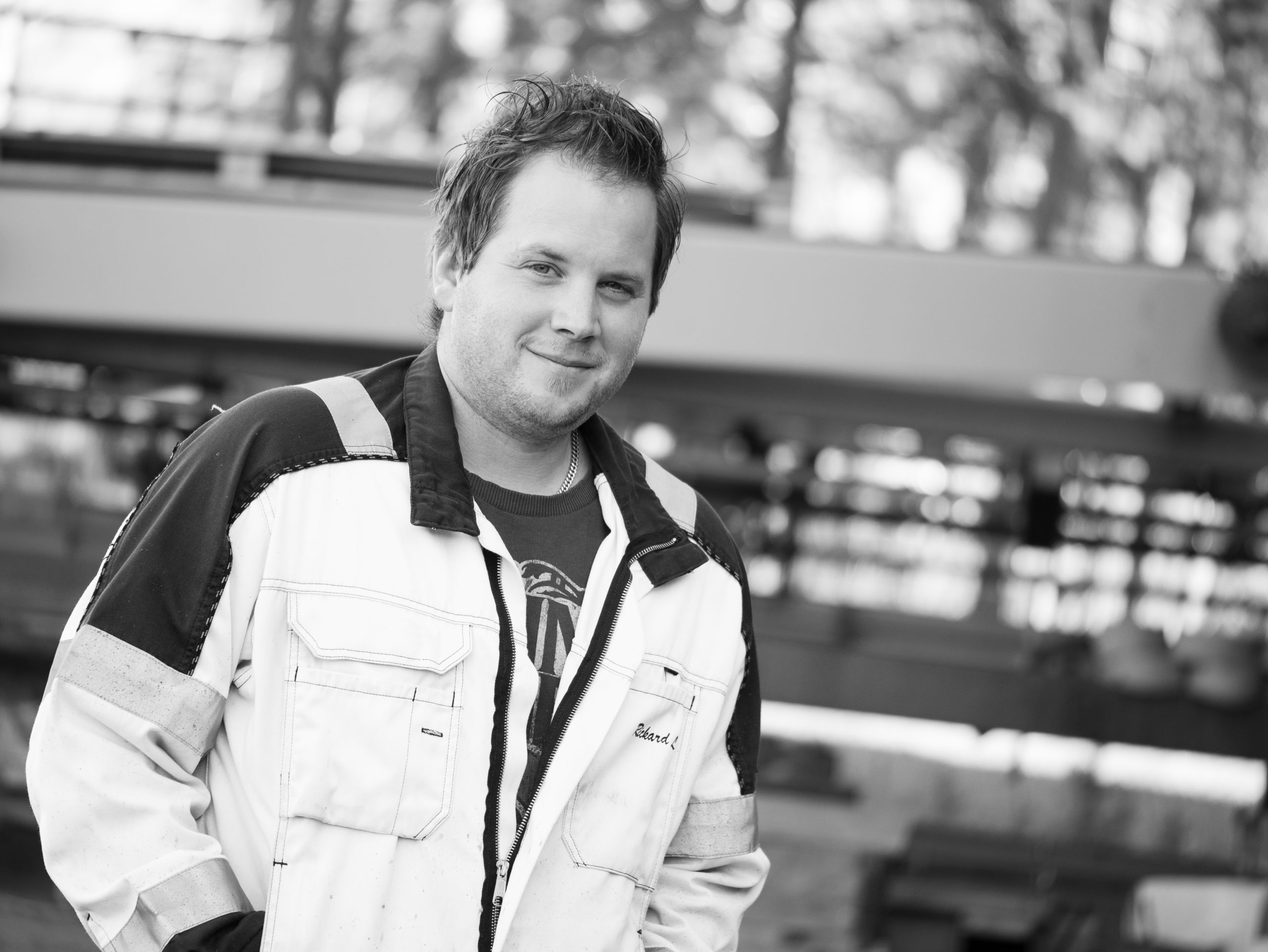 Rickard Lindgren, Servicetekniker
